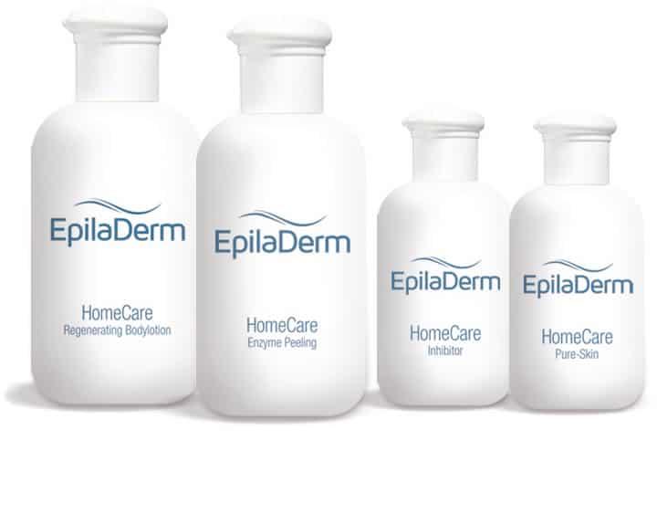 epiladerm-pflegeprodukte Haarentfernung